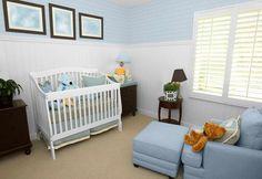Baby Boy Nursery Themes Ideas With Window Curtain