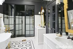 This Glam Bathroom Lets You Relax in Style