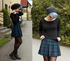 Autumn outfit worn by Elise.