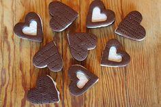Valentine's day cookie sandwiches - make with GF flour!