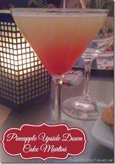 Pineapple Upside Down Cake Martini Recipe – Mommy Travels