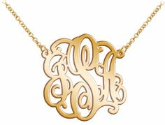 "Please note:  In your message box please put your letter initials in exact order you want and color name you want to use with it.    Anywhere you go with your mirror acrylic monogram, it will be reflect your surroundings    Acrylic Monogram size: 1.25""    Choose your favorite color      Comes with 18"" long yellow gold color plated chain. (If you want shorter chain please indicate in message box)"