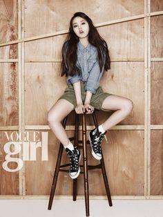 Wonder Girls Sohee for VOGUE Girl