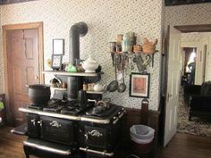 Lizzie Borden house - kitchen