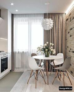 In Kontakt mit - House - Diy Room Decor Kitchen Room Design, Home Room Design, Dining Room Design, Home Decor Kitchen, Dining Rooms, Dining Chairs, Small Apartment Interior, Room Interior, Interior Design Living Room