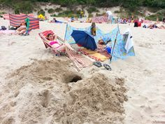 Niedzielne plażowanie