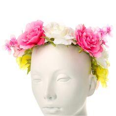 Large Flower Hair Crown
