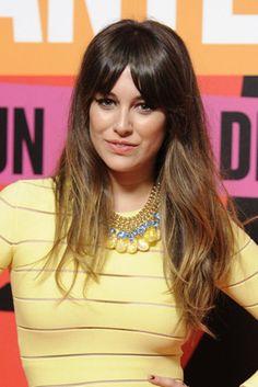 Inspiración peinados con flequillo según Kate Moss, Blanca Suárez, Cameron Díaz, Anne Hathaway...