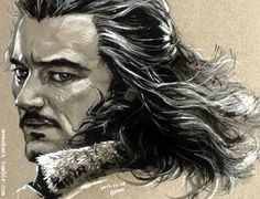 Bard the bowman. This artist is really good...-Fili <- Seriously though, I wish I could do stuff like this.