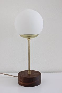 midcentury lamp brass table lamp modern desk lamp