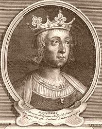Roi Dagobert III (Francs), mérovingien. Né vers 699, fils et successeur du roi Childebert IV, il accède au trône à l'âge de 12 ans, et meurt à 16 ans