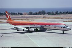McDonnell Douglas DC-8-63PF aircraft picture Pacific Airlines, Canadian Airlines, Cargo Aircraft, Passenger Aircraft, Air North, Mcdonald Douglas, Douglas Dc 8, Douglas Aircraft, Air Machine