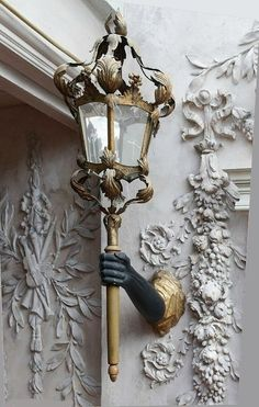 ♡ THE LAMP IS BEAUTIFUL AND THE RELIEF WORK IS EXTRAORDINARY!!! [ You can keep the arm, though! ]  ♥A