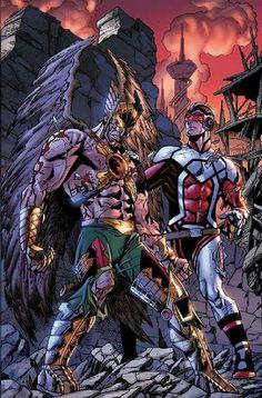 Hawkman & Adam Strange