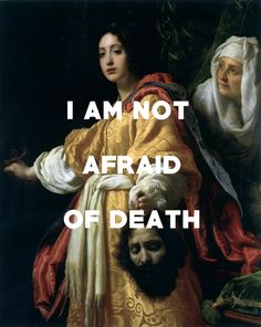 Judith with the Head of Holofernes (1615-17), Cristofano Allori / Original Air-Blue Gown, The Mountain Goats