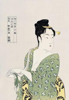 浮気の相|喜多川歌麿|浮世絵のアダチ版画オンラインストア