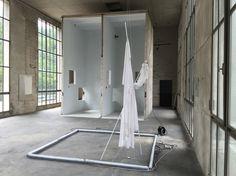 Francesco De Prezzo installation view, there was here first , solo exhibition at Fondazione Musil, Brescia