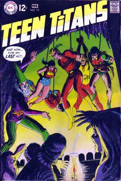 Teen Titan 19 comic cover hi-res