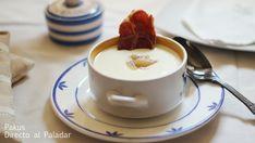 Vichyssoise con manzana Cream Recipes, Soup Recipes, Tea Cups, Pudding, Cooking, Tableware, Desserts, Soups, Food