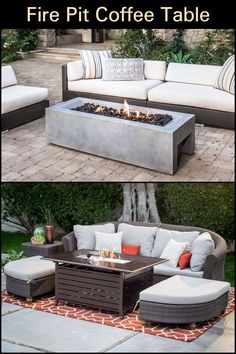 12 amazing fire pit coffee table images fire pit coffee table rh pinterest com