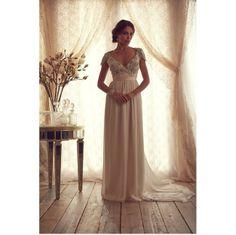 Romantic Wedding Dresses by Anna Campbell #wedding #fashion