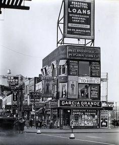 Jamaica Ave, NYC, 1930s.  (Image: Retronaut) #NYCLove