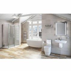 Verdi Glazed Porcelain Floor & Wall Tile 15cm x 60cm