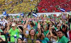 Estadio de Futbol Managua: Miles de jóvenes centroamericanos viven Encuentro Neocatecumenal