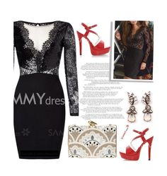 """Sammydress 28/1"" by merima-kopic ❤ liked on Polyvore featuring KOTUR"