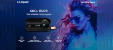 With Coolpad Cool Bass Buds, Coolpad has made its entry into the accessories segment. Tab to read more. Gadget News, Sweat Proof, Wireless Earbuds, Bass, Technology, Cool Stuff, Reading, Accessories, Tecnologia