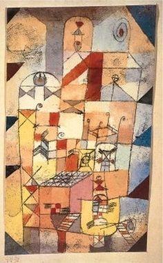 Paul Klee - 1919 - House Interior