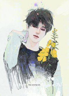 super junior yesung fan art