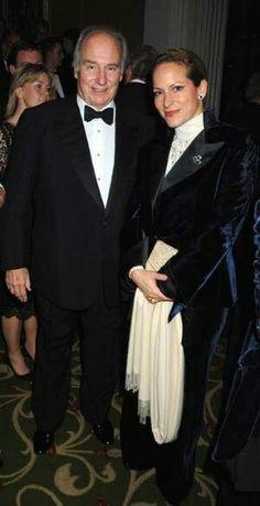 Aga khan and daughter, Princess Zarha