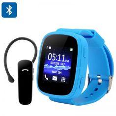 Ken Xin Da S7 GSM Smart Watch (Blue)