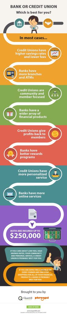 Bank or Credit Union? Which is Best for You...