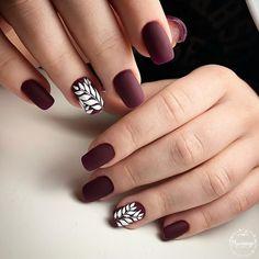 Manikűr | VK - #accentnails #accent #nails