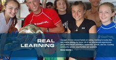 REAL LEARNING!! Hands on experience. Cant get much better than this! SCUBA, SAILING, MARINE SCIENCE http://www.seatrekbvi.com/