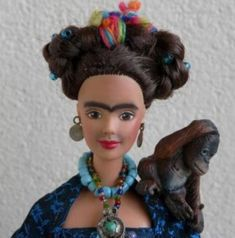 Frida Kahlo Barbie OMG