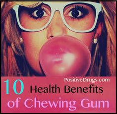 10 Health Benefits of Chewing Gum. I personally love gums no matter what but it is really good for everyone except these who have allergies
