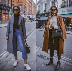 Which outfit are you most likely to wear? Left or right - Lo .- Welches Outfit trägst du am ehesten? Links oder rechts – Lovely Outfits – Which outfit are you most likely to wear? Left or Right – Lovely Outfits – - Winter Outfits For Teen Girls, Winter Outfits For Work, Winter Fashion Outfits, Look Fashion, Fall Outfits, Autumn Fashion, Rainy Day Outfits, Cold Spring Outfit, Winter Outfits 2019