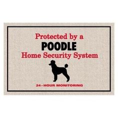 Watch out for the poodles from the Poodle Peace Parade...they'll licky kiss you to death!!!