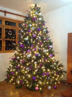 1000 Images About Christmas In Purple Lilac On Pinterest