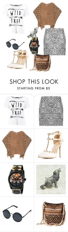 """""""Wild & Free"""" by chicbluemarty ❤ liked on Polyvore featuring WearAll, True Religion, Wild Diva, Neff, Le Specs and Volcom"""