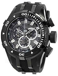 Invicta Reserve Bolt II Charcoal Dial Chronograph Mens Watch 0979 Invicta, http://www.amazon.com/gp/product/B0050OF0GK/ref=cm_sw_r_pi_alp_0srvqb13DR494