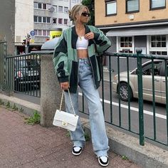 Retro Outfits, Trendy Outfits, Cute Outfits, Fashion Outfits, 80s Fashion, Fashion Trends, Aesthetic Fashion, Aesthetic Clothes, Autumn Aesthetic