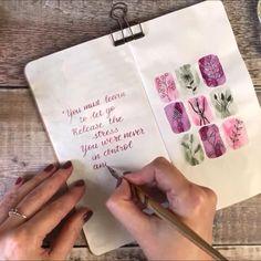 Art Journal Pages, Art Journal Challenge, Art Journal Prompts, Art Journal Techniques, Bullet Journal Ideas Pages, Bullet Journal Inspiration, Art Journals, Bullet Journal Free Printables, Junk Journal