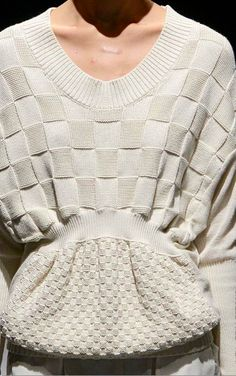 Jnby S/S 13. knit purl purl knit.