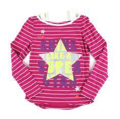 pink Star t-shirt, Children's Place t-shirt, Children's Place top for girls