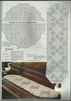 Best 12 Kira scheme crochet: Scheme crochet no. Crochet Patterns Filet, Crochet Motifs, Crochet Designs, Crochet Doilies, Crochet Unicorn Blanket, Crochet Bunny, Crochet Home, Crochet Table Runner, Crochet Tablecloth