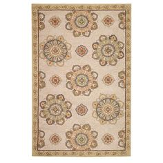 Home Decorators Collection Bianca Beige 5 ft. x 8 ft. Area Rug-0467330420 - The Home Depot